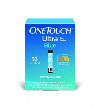 One Touch Ultra Blood Glucose Test Strips for sale